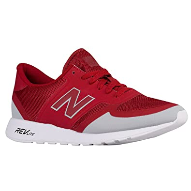 new balance 420 trainers red