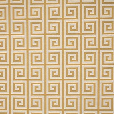 Amazon Com Nanotex Waterproof Greek Key Upholstery Fabric By The