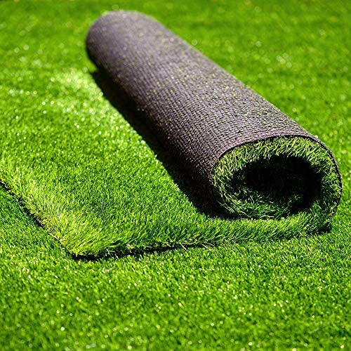 Amazon Com Conscience Trading Artificial Grass 3 Ft X 8 Ft 24 Square Ft Synthetic Thick Lawn Astro Turf Landscape Balcony Carpet Perfect For Indoor Outdoor Fake Grass Rug Home Kitchen