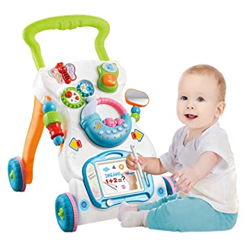 WMYJXD Andador para Bebés, Andador Multifunción, Educación ...
