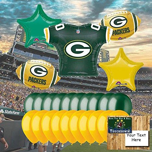 Anagram Green Bay Packers Balloon Set ()