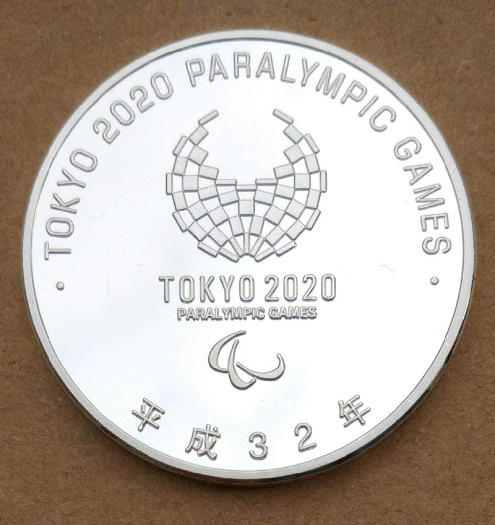 Japan 2020 Olympic Games Silver-Plated Commemorative Coin Commemorative Coin delivery