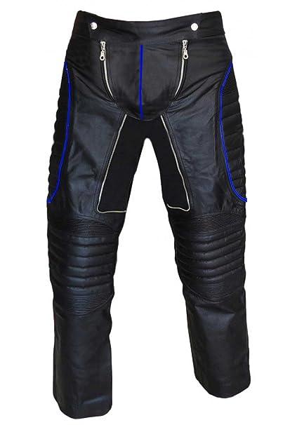 Amazon.com: Mens Sexy verdadero piel negro X-Men estilo ...