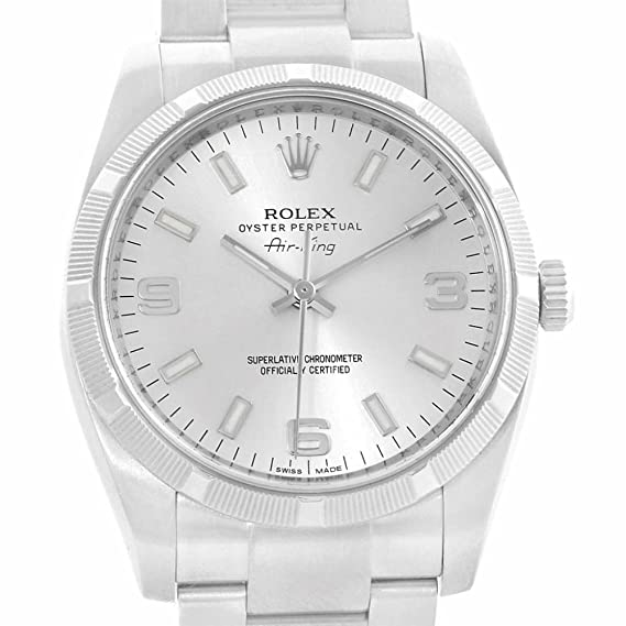 Rolex Air-King Automatic-self-Wind Male Watch 114210