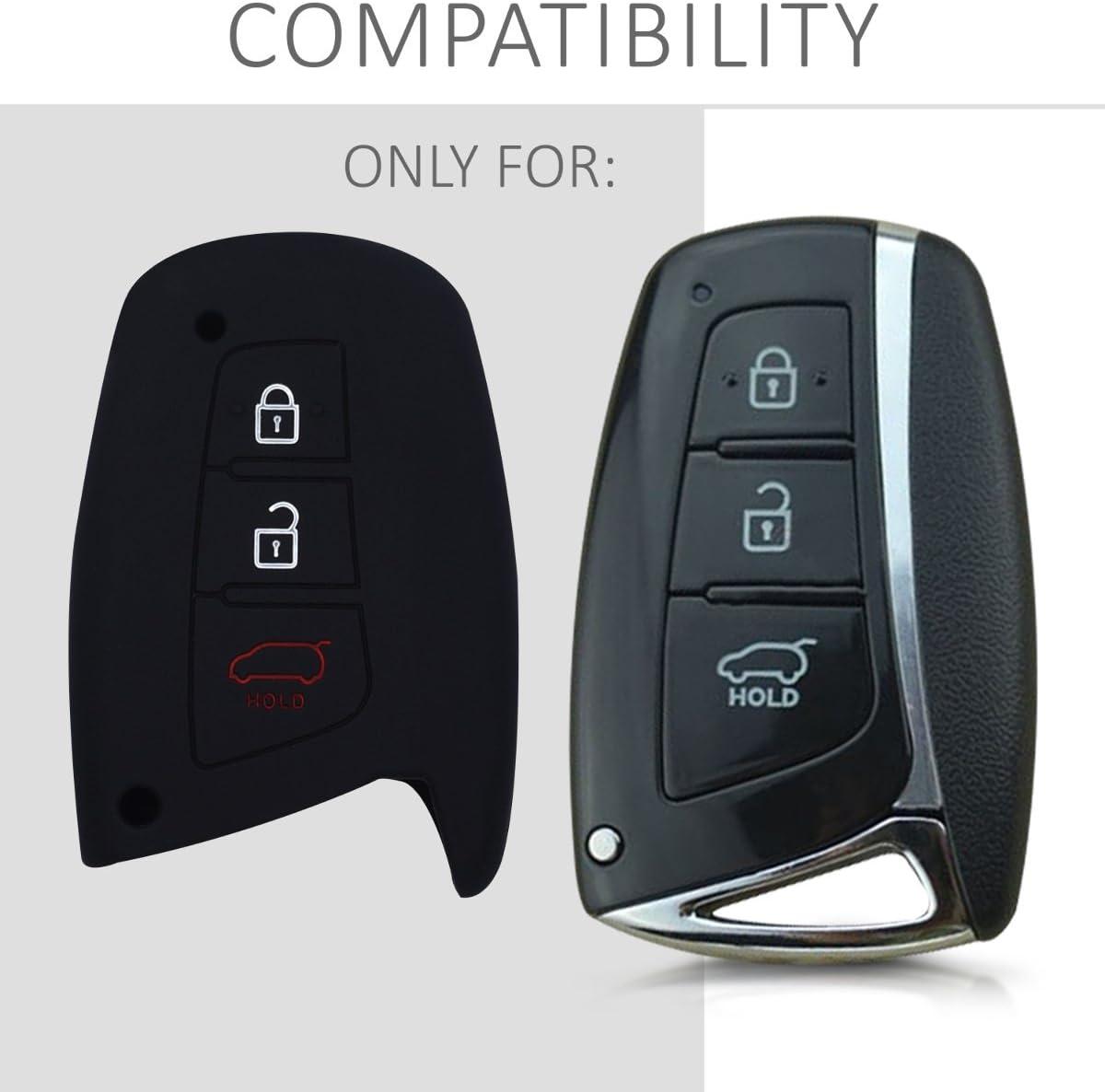Kwmobile Autoschlüssel Hülle Kompatibel Mit Hyundai Elektronik