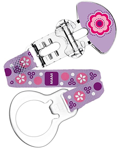 MAM Clip y cubierta (rosa flores): Amazon.es: Bebé