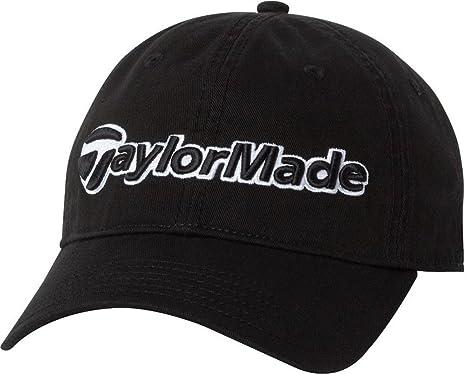 218e38a492eb7 Amazon.com   TaylorMade Tradition Hat (Black