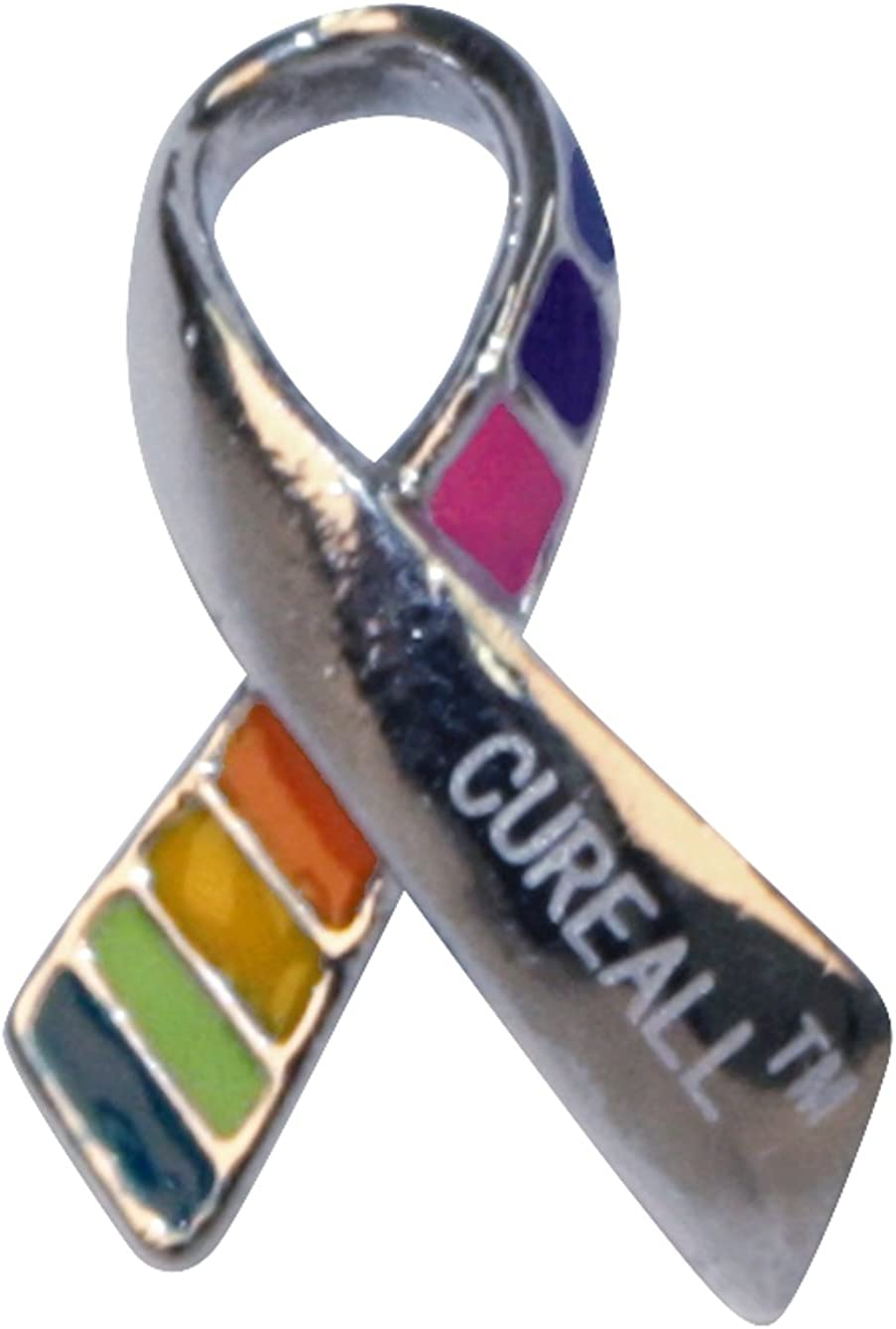 Cancer Remission Enamel Pins 12 Pieces Jewelry