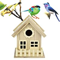 Rameng- Nichoir Oiseaux Bird House en Bois Nid DOX Maison d'oiseau oîte Boîte