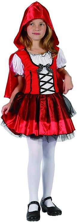 Disfraz de caperucita roja niña - 4 - 6 años: Amazon.es: Juguetes ...