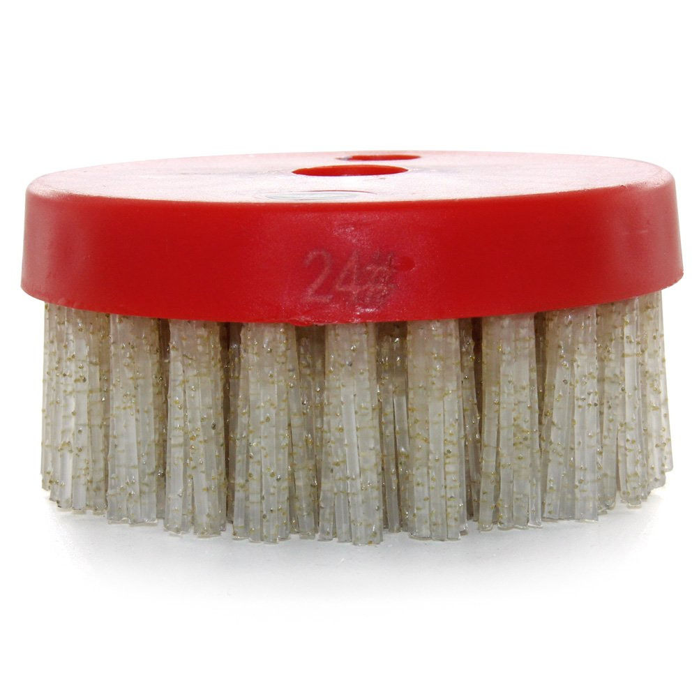 Easy Light 4 Inch Diamond Abrasive Round Strong Brush for Granite Marble Artificial Stone Grit 60 by Easy Light