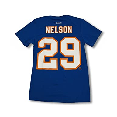 online store c1d47 c1024 REA Sioux Shop Brock Nelson NY Islanders Jersey Tee - Adult