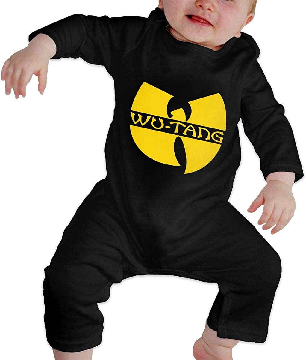 CustomART Baby Romper Jumpsuit Long Sleeve Wu Tang Clan Poker