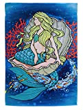 Evergreen Flag Mermaid in Clam Suede House Flag, 29 x 43 inches Review
