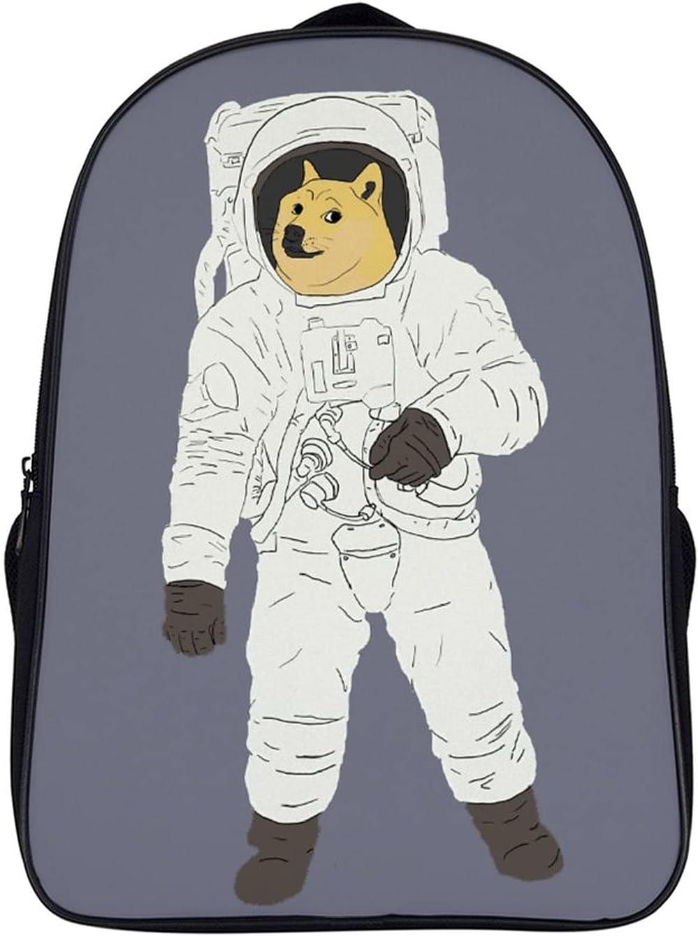NASA Pattern Astronaut Doge Backpack Travel Work Bag School laptop Business Backpacks Women Men's Gift