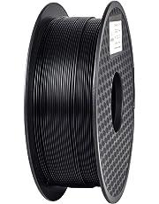 GIANTARM Filamento PLA, PLA Filamento 1.75 mm, Bobina da 1 kg per Stampante 3D, Nero