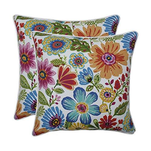 """Pillow Perfect Indoor/Outdoor Gregoire Prima 18.5"""" Throw Pil"""
