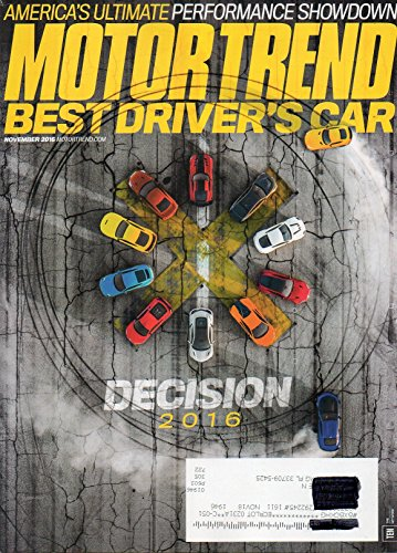 Motor Trend 2016 Magazine VERDICTS CORVETTE STINGRAY Z51, HONDA CR-V TOURING AWD Intake: This Month's Hot Metal (Best Land Rover Magazine)