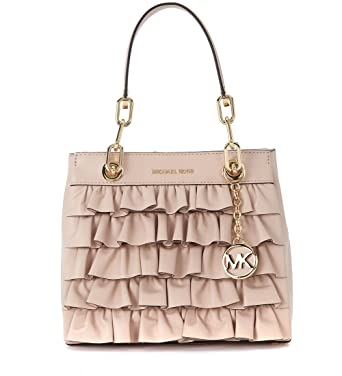 fd2835eaf2c7 Image Unavailable. Image not available for. Color: Michael Kors Women's Michael  Kors Cynthia Pink Leather Handbag ...