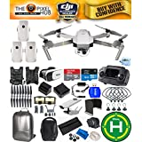DJI Mavic Pro Platinum Fly More Combo Bundle With Backpack, 7 Piece Filter Kit, Vest Strap, Landing Pad Plus Much More (3 Batteries Total)