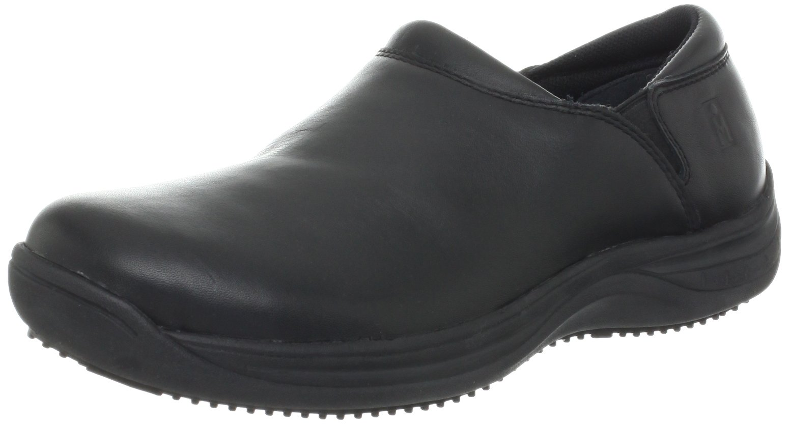 MOZO Women's Forza Slip Resistant Work Clog,Black,6.5 M US