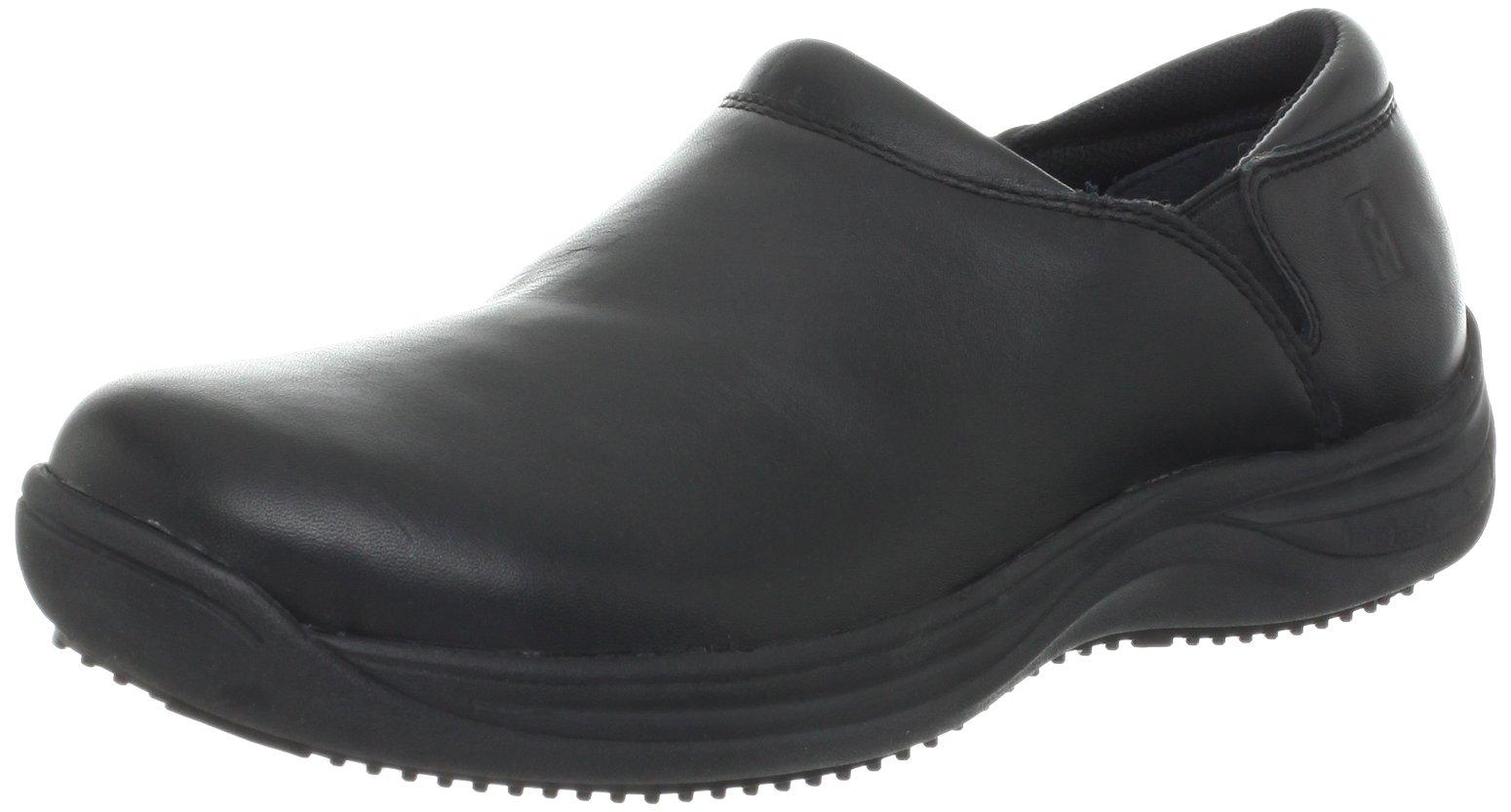 MOZO Women's Forza Slip Resistant Work Clog,Black,9.5 M US