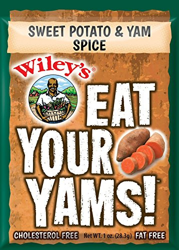 Wiley's Sweet Potato & Yam Spice - 6 (SIX) Packets (Best Spices For Potatoes)
