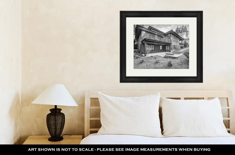 Amazon.com: Ashley Framed Prints Luxurious New Construction Home In ...