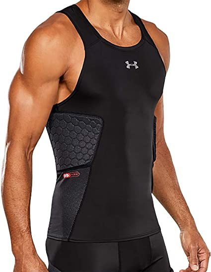 Men Tank Tops Compression Base Layer Sleeveless Sports Under Shirt Vest T-Shirt
