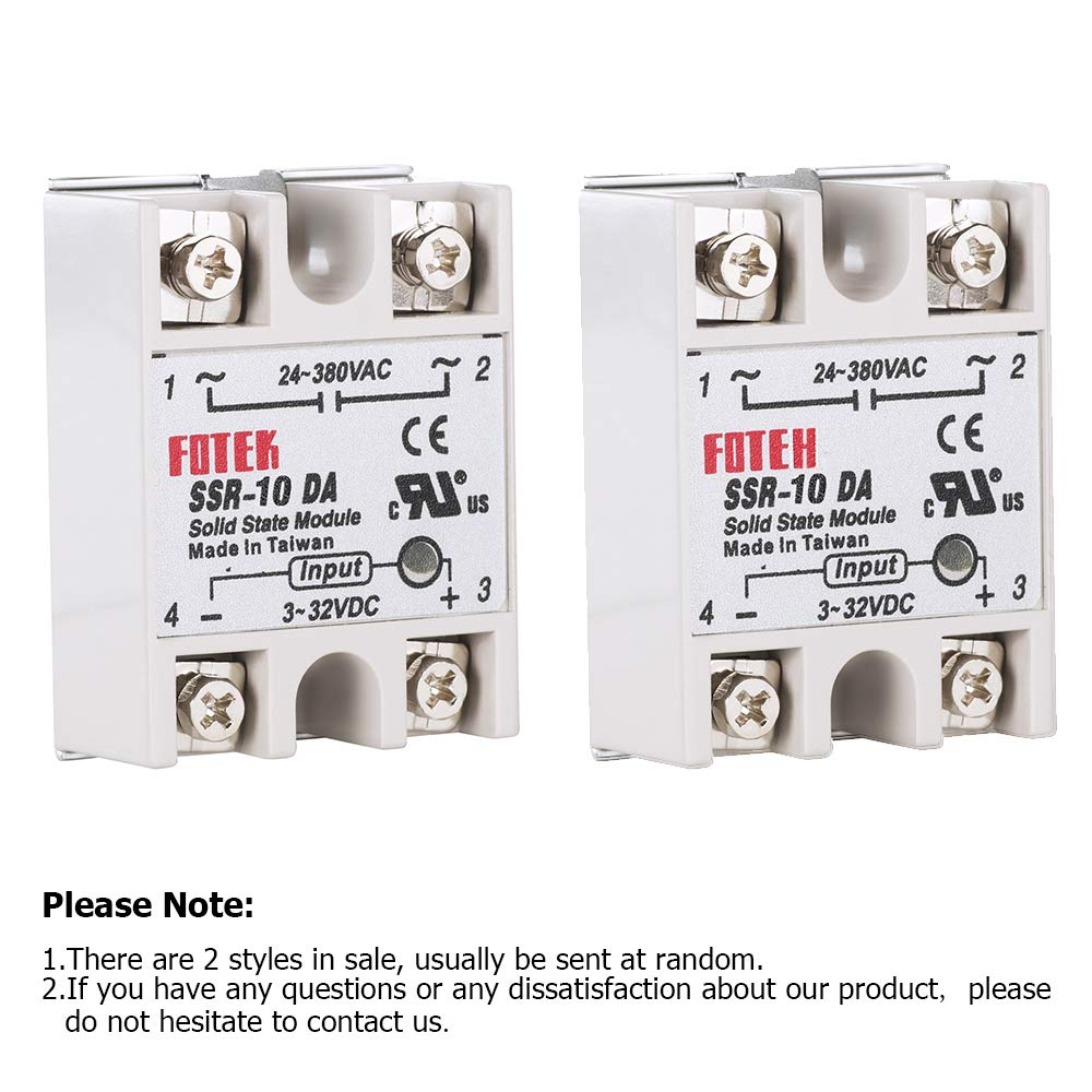 Solid State Relay Topdirect 3pcs Ssr 10da Input 3 Medium Power Single Phase Acsolid 32v Dc Output 24 380v Ac For Arduino Raspberry Industrial Scientific