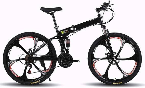 KXDLR MTB 21 Velocidades para Hombre MTB Cuadro De La Bicicleta 26 ...