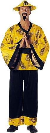 chiber Disfraces Disfraz Chino Amarillo: Amazon.es: Juguetes y ...