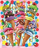 White Mountain Puzzles Ice Cream Candy Swirls - 550 Piece Jigsaw Puzzle
