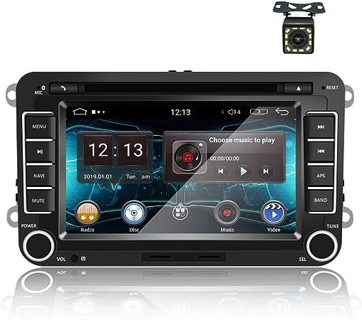 Android 9 0 Autoradio Gps Auto Cd Dvd Für Vw 7 Zoll Elektronik