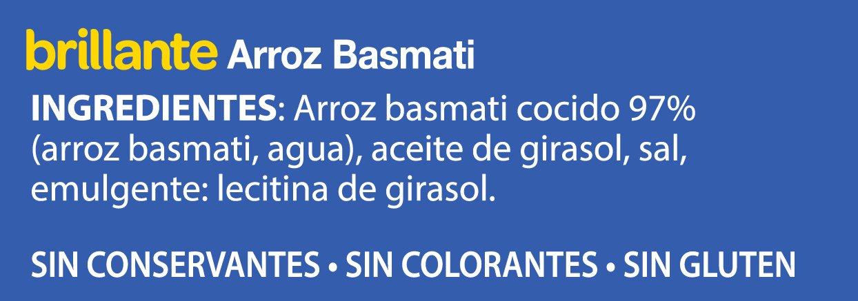 Brillante Basmati - 2 x 125 gr: Amazon.es: Amazon Pantry