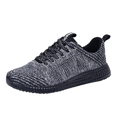 1ea979041 TIOSEBON Women's Breathable Summer Honeycomb Sneakers Athletic Sport  Lightweight Walking Shoes 5 US Gray