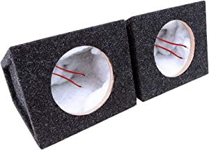 "Atrend Bbox SC6.5PRC 6.5"" Pro Audio Tuned Speaker Enclosures (2), Charcoal with Polyfill"