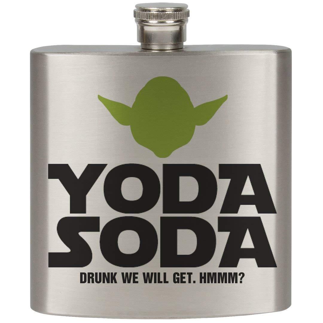 【祝開店!大放出セール開催中】 SwigのYoda No Soda Size : 6オンスステンレス鋼フラスコ No Size グレー SwigのYoda No Size シルバー B019NRGQPI, インテリア雑貨Cute:88e9298d --- ecofriendlycarrybag.com