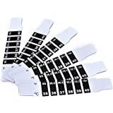 PASNOWFU Instant Read Forehead Temperature Thermometer Strips,Reusable Fever Thermometer Strip,Adhesive Checking Thermometer Strip of Children/Infants/Adults/Elderly People(6pcs)