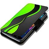 Book Style Flip Handy Tasche Case Schutz Hülle Schale Motiv Etui für Samsung Galaxy S3 Mini i8190 - A46 Design8