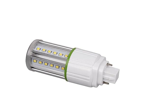 dephen LED maíz luz bombilla 5 W SMD2835 lámpara de 2pin Base (G24) abajo