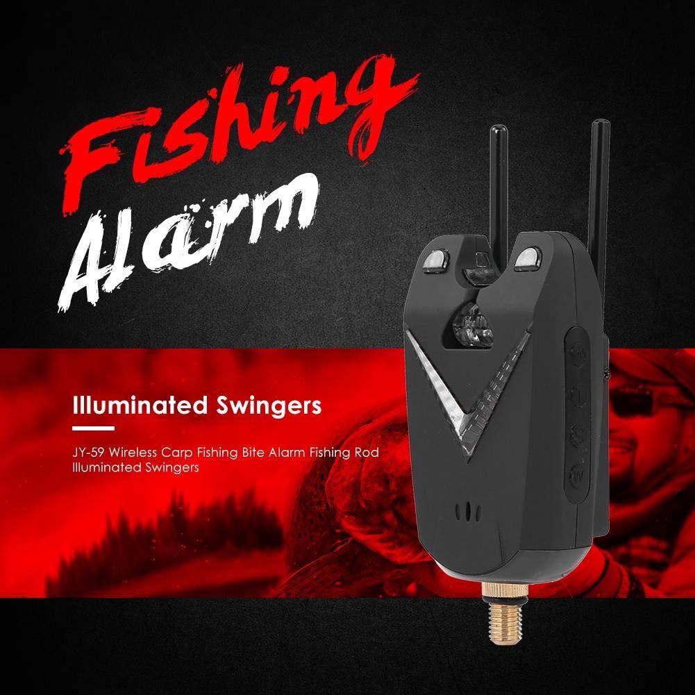 Trendyest Alarmas de Pesca, JY-59 Indicador de Pesca Alarma ...