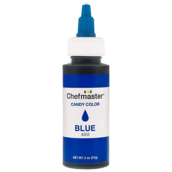 U.S. Cake Supply 2-Ounce Liquid Candy Food Color Color Blue