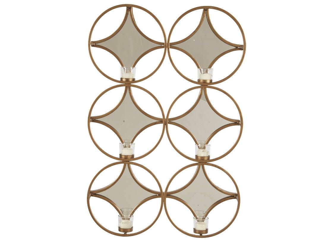 Signature Design by Ashley Emilia Wall Sconce Gold