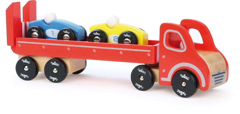 Vilac 26,5 x 6 x 9 cm autocarri e rimorchi con 2 Auto