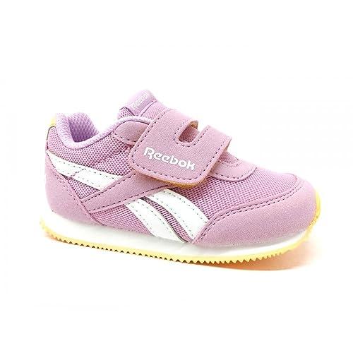 Reebok - Zapatillas de gimnasia para niña, Rosa, 24½