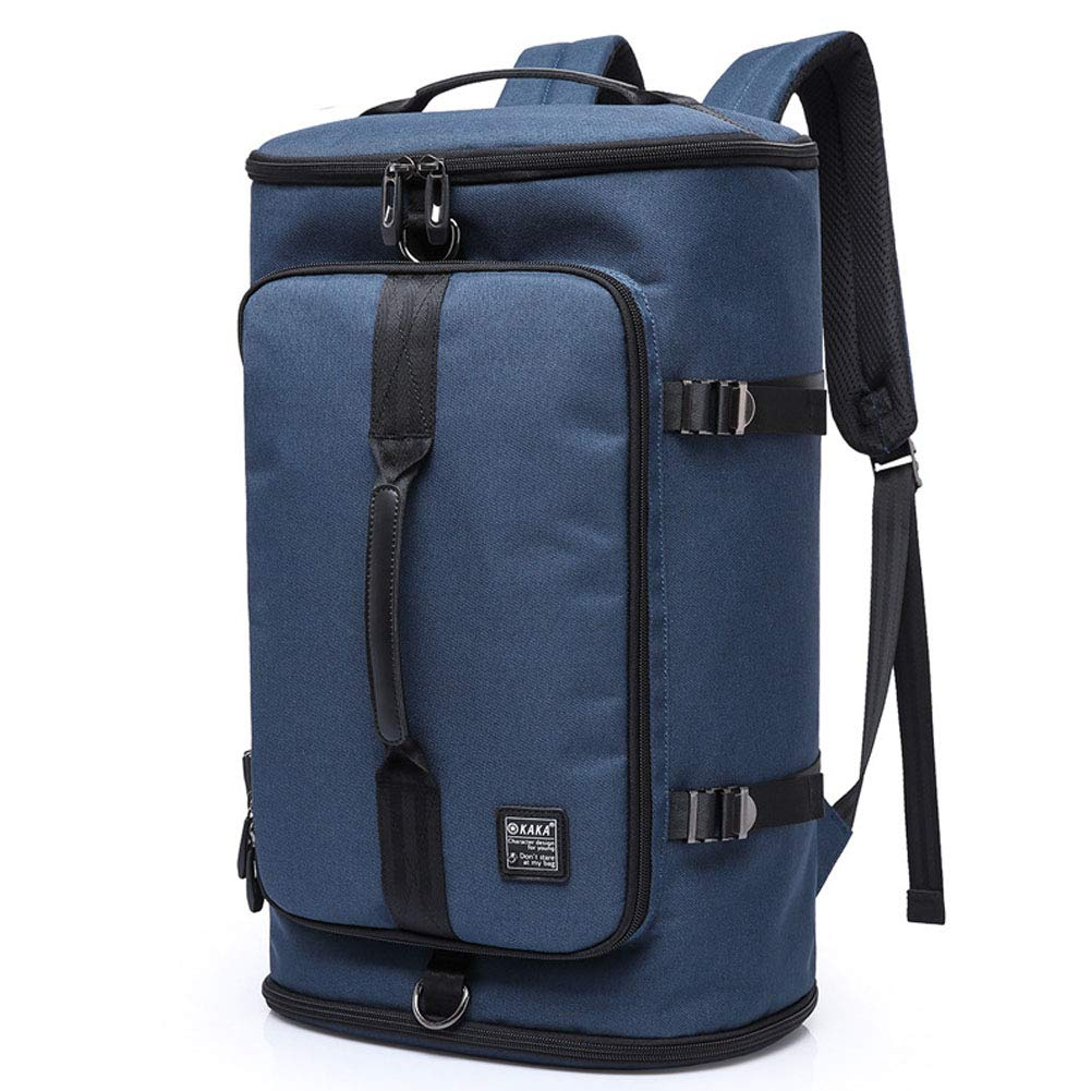blueeee Small Unisex Casual Travel Waterproof Laptop Backpack Business Computer Backpack with Charging Port by S.Charma