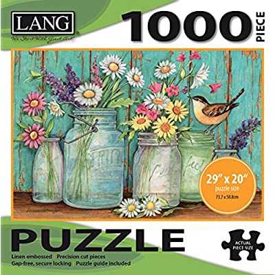 Jigsaw Puzzle 1000 Pieces 29x20 Mason Flowers