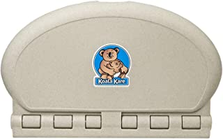 product image for Koala Kare KB208-14 Sandstone Oval Wall Mounted Changing Station