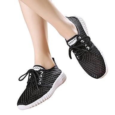 3a8efd9a83c70 Beikoard-scarpa Casual da Donna Scarpe da Ginnastica Traspiranti  Antiscivolo Traspiranti Tinta Unita  Amazon.it  Abbigliamento